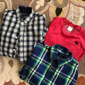 Boys long sleeve shirt bundle